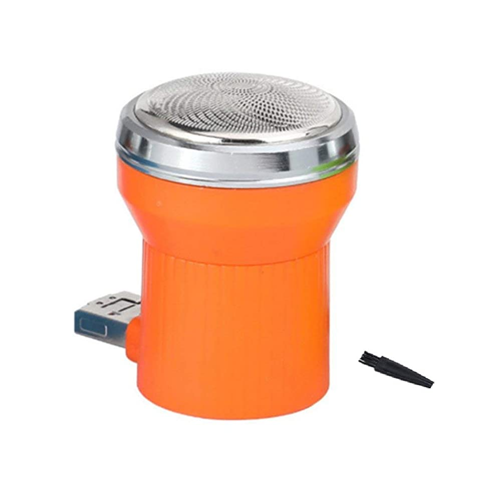 ブロックするラリー吸収マイクロUSBアンドロイド電源用ポータブルミニスマートフォン技術電気シェーバーカミソリ緊急ポータブルトラベル