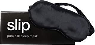 Slip Pure Silk Sleep Mask, Black - 100% Pure Mulberry Silk 22 Momme Eye Mask with Elastic Band from Slip Pure Silk Pillowcase