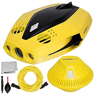 CHASING Dory Underwater ROV Professional Dynamic Basic Bundle Includes: Wi-Fi Buoy, Tether, Charger, and More