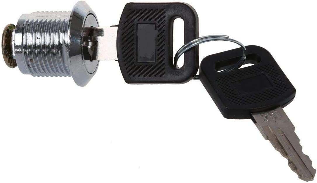 SHAXX Tool free Box Cabinet Locking Max 46% OFF 19mm Thread Cam Cylinder Dia Lock