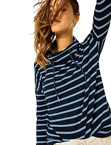 Cecil Damen 316938 T-Shirt, deep Blue, L