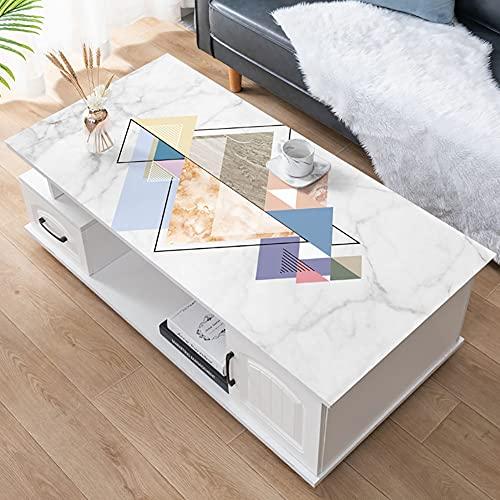 YINGLUO Cubierta de mesa de escritorio de hule mantel protector de mesa alfombrilla de ratón impermeable para limpiar el escritorio Blotter Protector de cuero hogar