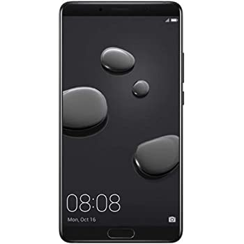 "Huawei Mate 10 ALP-L29 64GB Black, Dual SIM, 5.9"", Dual 20 MP +12 MP, GSM Unlocked International Model, No Warranty"
