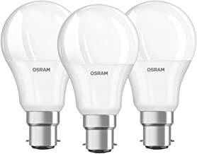 OSRAM LED BASE CLASSIC A / LED lamp, classic bulb shape, with bayonet base: B22d, 8.5 W, 220…240 V, 60 W replacement, frosted, 2700 K, 3pack
