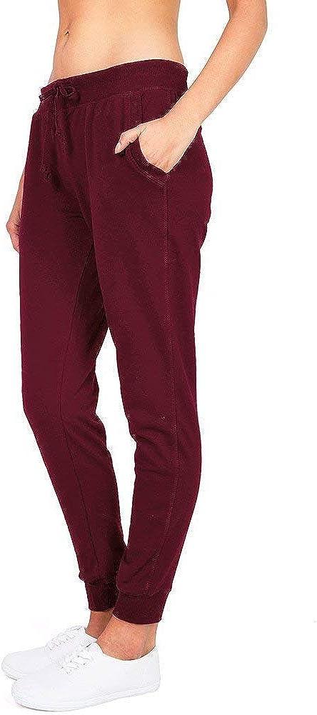 Amazon Com Ambiance Pantalones Tipo Jogger Suaves Para Mujer Clothing