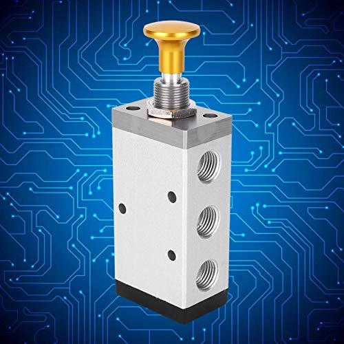 Conexión de rosca de válvula de botón G1 / 4 pulgadas G3 / 8 pulgadas para la industria(4R310-08)