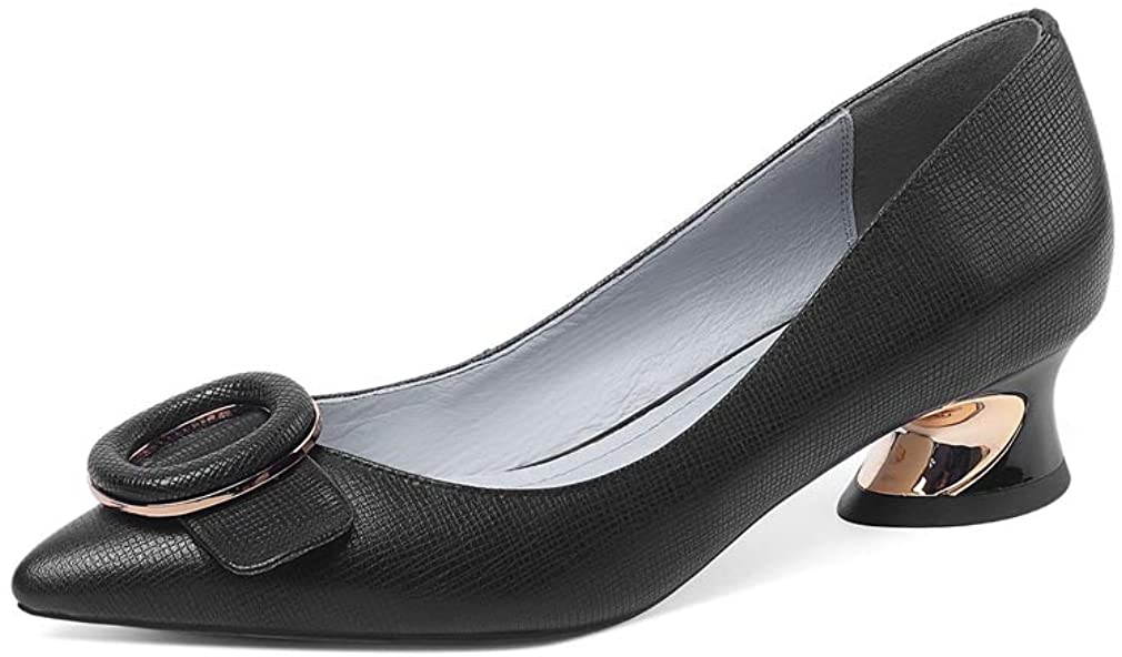 TinaCus Women's Handmade Max 73% OFF Genuine Leather Pointed Clear C Free shipping Toe Low