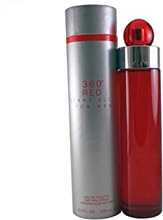 Perry Ellis 360 Red Eau de Toilette Spray for Men 6.8 Ounce by Perry Ellis