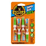 Best Super Glues - Gorilla Super Glue Gel, Four 3 Gram Tubes Review