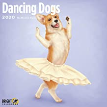 2020 Dancing Dogs Calendar 16 Month 12 x 12 Wall Calendar by Bright Day Calendars (Kids and Family Collection) (Dancing Dogs 2020)