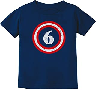 Captain 6th Birthday - Gift for Six Years Old Toddler/Infant Kids T-Shirt