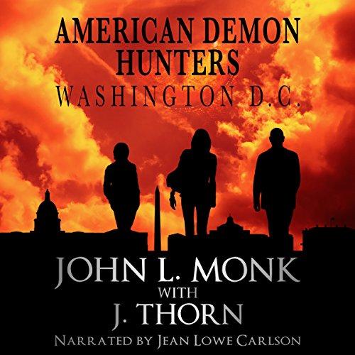 American Demon Hunters - Washington, D.C. audiobook cover art