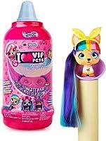 Vip Pets - Mini Muñecas Perritas coleccionables con pelo largo a peinar; para niñas a partir de 3 años