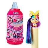 Vip Pets - Mini Muñecas Perritas coleccionables con pelo largo a peinar; para niñas a partir de 3 añ...