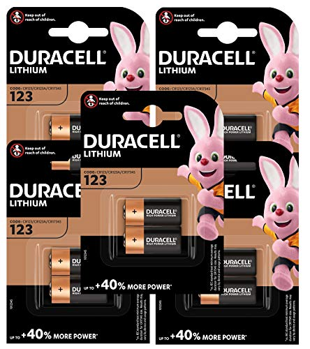Duracell DURALOCK LR03 3 V Lithium Photo Batterien (10 Stück)