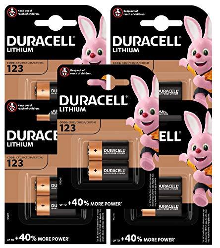 Duracell Duralock Batterie al litio per fotocamera da 3 V (confezione da 10)
