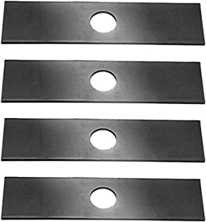 4 Pack, Heat Hardened (longer life) Edger Blades Replace Ryobi 613223, Echo 720-237-001, Stihl 4133-713-4101, Maruyama 216062. Green Machine 237001