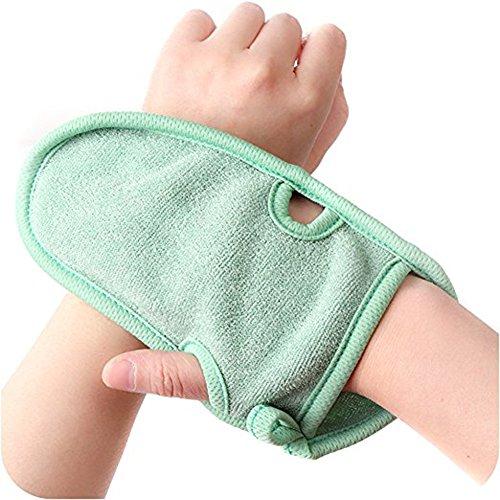 3pcs elimina células muertas piel exfoliante guantes