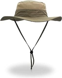 Windproof Fishing Hats UPF50+ UV Protection Sun Cap Outdoor Bucket Mesh Hat 56-61cm