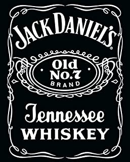 Jack Daniels Vintage Whiskey Label Alcohol Drinking Decorative Art Poster Print 16 by 20