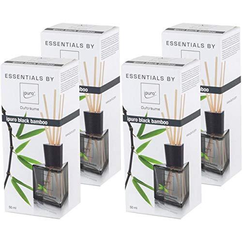 Essentials by Ipuro black bamboo 50ml Raumduft (4er Pack)