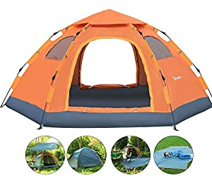 Wnnideo Instant Family Tent Automatic Pop Up Tents