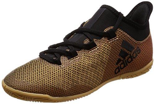 Adidas X Tango 17.3 In J, Zapatillas de fútbol Sala Unisex niños, Amarillo (Ormetr/Negbas/Rojsol 000), 32 EU