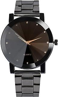 Big Promotion ! Auwer Watch Luxury Quartz Crystal Sport Stainless Steel Wrist Watch Men