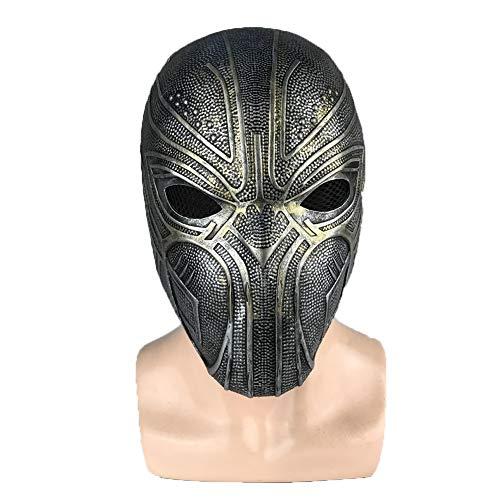 Halloween Charakter Maske, Latex Krieger Helm Charakter Kopfschmuck Für Halloween Party Kostüm Rollenspiel Und Andere Szenen