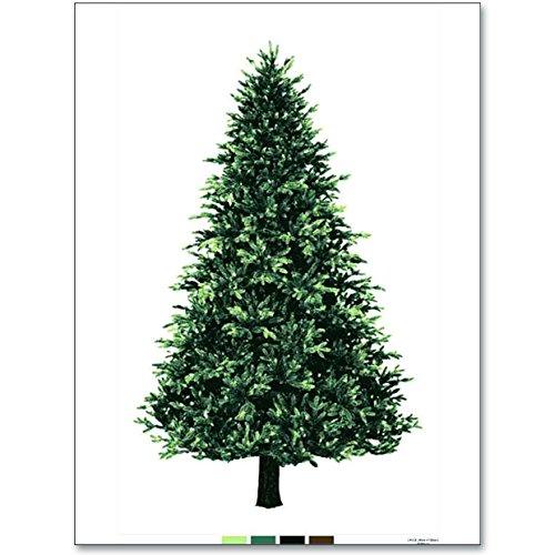 クリスマスツリー タペストリー ウッド柄パネル オックス 90cm単位 クリスマス トーカイ