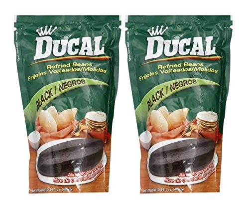 Outlet SALE DUCAL Frijoles Negros Volteados Max 50% OFF Molidos Doy 400 gr 2 Pack PACK