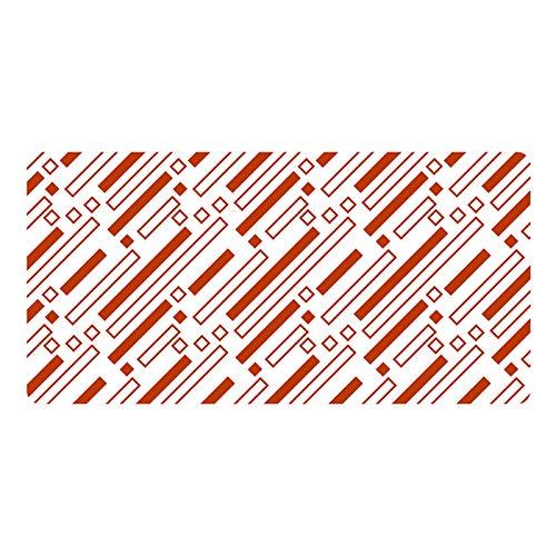 Mauspad Design und Farbe Kreative Große Leder Mauspad Pergament Schreibtisch Pad Kreative einfache Persönlichkeit Übergroße verdickte Mauspad Büro Schreibtischmatte (300 * 600 * 3mm)