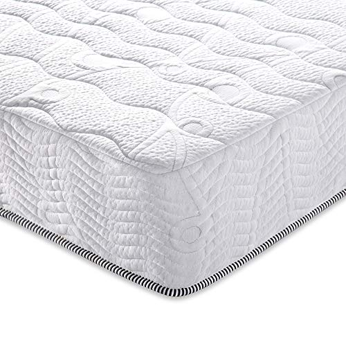 Olee Sleep 10 inch Omega Hybrid Gel Infused M   emory Foam and Pocket Spring Mattress (Full)