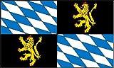 Rheinische Pfalzgrafschaft Fahne / Flagge Größe 1,50x0,90m