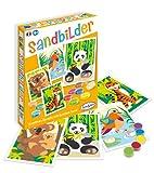 Sablimage- Sandbilder Bastel-Set für Kinder Motiv bedrohte Tierarten Sabliage - Kit de Manualidades para niños, diseño de Animales en Amenaza, DIY, Multicolor, Talla única (SENTOSPHERE 3980500)