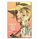 HJZBJZ Lady Gaga Fünf Fuß Zwei 2017 Netflix Documenta