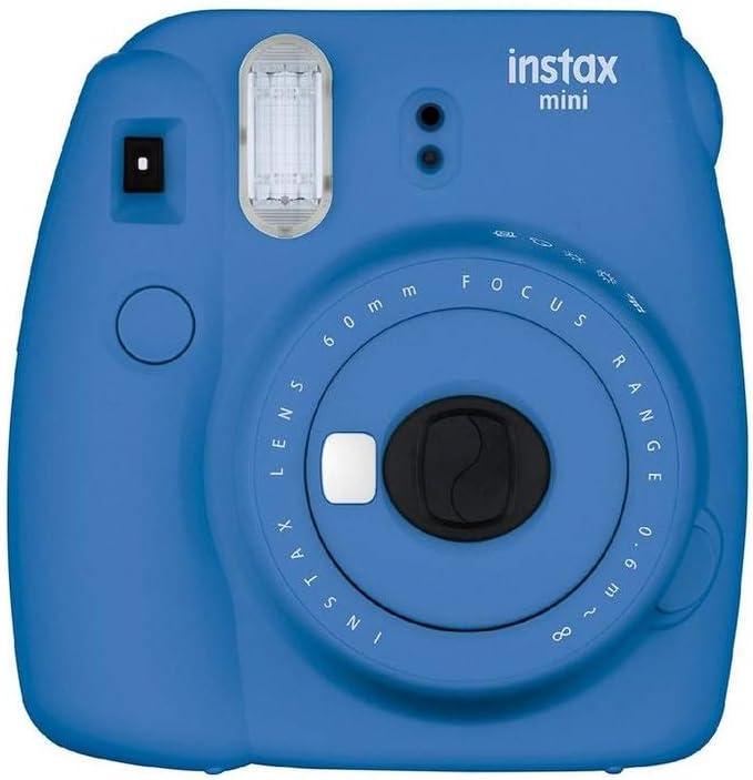Instax Mini 9 Kamera Cobalt Blau Incl 2x10 Instax Mini Kamera