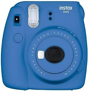 Fujifilm Instax Mini 9 - Cámara instantánea Cámara con 1x10 películas Azul Marino
