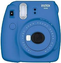 Fujifilm Instax Mini 9 - Cámara instantánea, Cámara con 1x10 películas, Azul Marino