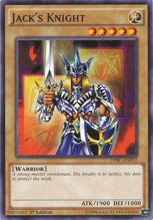 YU-GI-OH! - Jack39;s Knight (DPBC-EN012) - Duelist Pack 16: Battle City - 1st Edition - Common