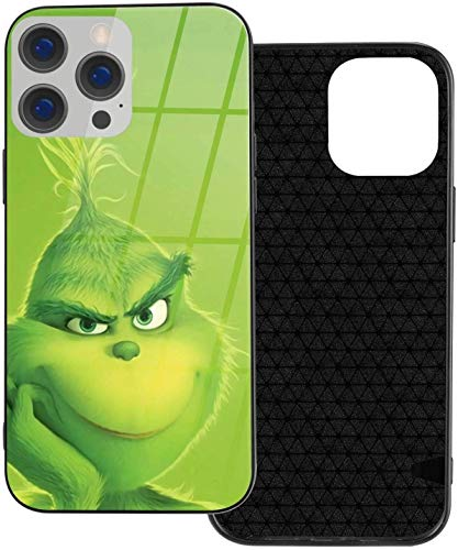 The Grinch - Funda protectora para iPhone 12 Pro Max (TPU y Galss)