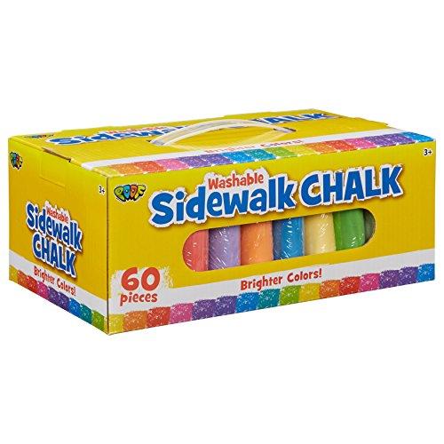 POOF 60pc. Sidewalk Chalk, 60 pc Set