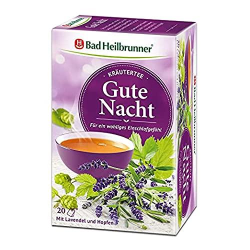 Bad Heilbrunner Gute Nacht Tee im Filterbeutel, 1er Pack (1 x 20 Filterbeutel)