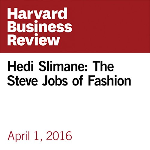 Hedi Slimane: The Steve Jobs of Fashion copertina