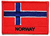 PP Patch Norway Flag Flag Logo Uniform Emblem Jacket T-Shirt Jeans Badge Hat Cap Polo Backpack Patch Iron on Patch Stickers Country Flag Embroidered Patch Birthday Gifts