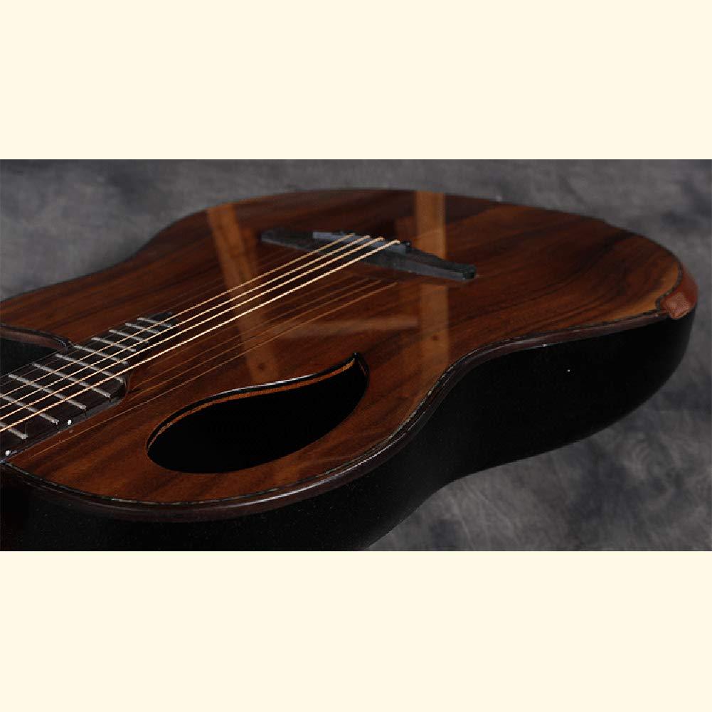 Parte Posterior Redonda Agujero De Sonido Agujero De UVA Guitarra ...