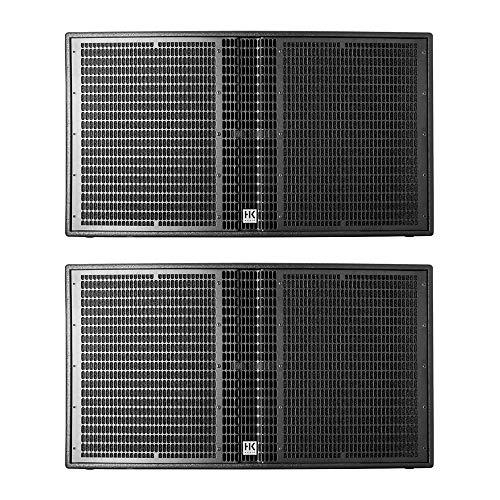 HK Audio LS4000A Active Subwoofer (45,7 cm / 18 Zoll), 1200 W Linear 5 Lautsprecher, 2 Stück