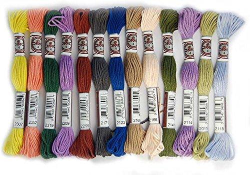 DMC Lote de 20 madejas de Hilo tapicería Art.89 - Colores a Elegir