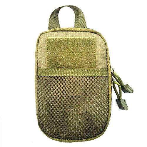 Forfar Beautyrain Tactique Molle militaire EDC taille Pouch Outils de chasse Pocket Accessoires Des sacs Sac de chasse tactique
