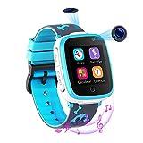 Reloj Inteligente para Niños de 2 Cámaras con Juegos de Música - 1.54 Pantalla Táctil en Color...